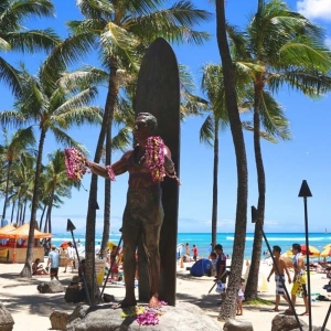 Statue of Duke Hawaii