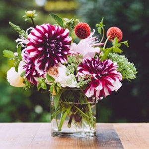 Dahlia Wedding Arrangement