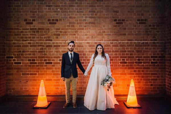 Urban Perth wedding