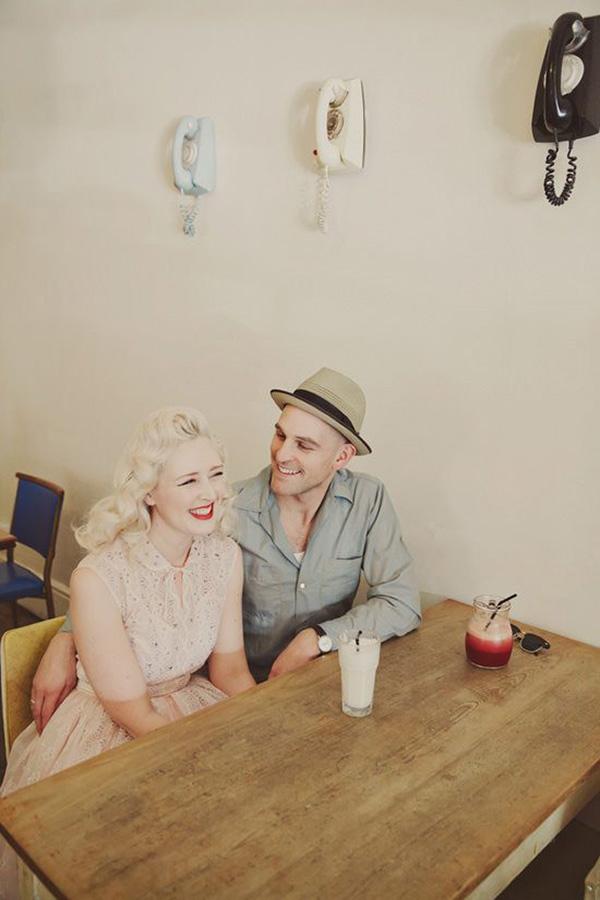 Vintage Engagement Photos