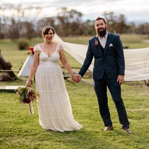 Vintage Inspired Tuggeranong Homestead Wedding