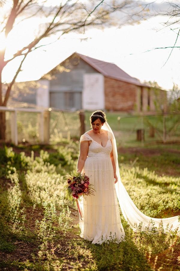 Bride Wearing Grace Loves Lace