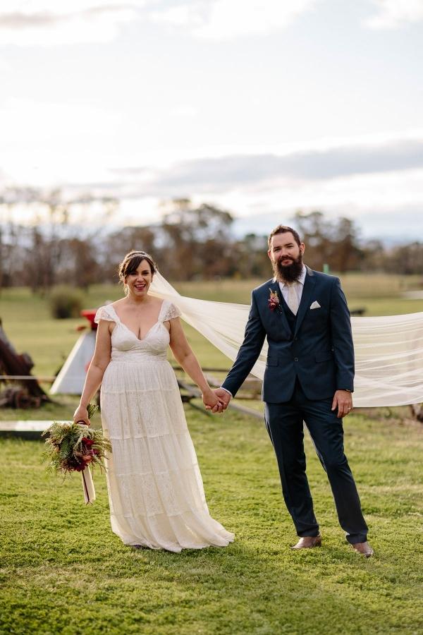 Vintage Inspired Tuggeranong Homestead Wedding