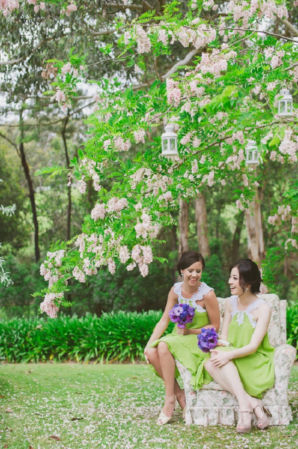 Whimsical Bridesmaid Looks