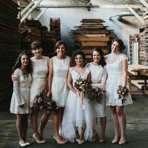 Whimsical Warehouse Wedding