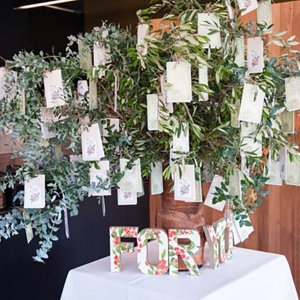 Wedding Favor Tree