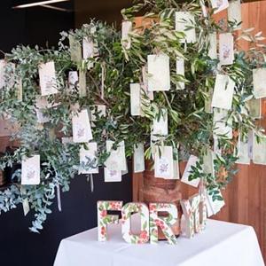 Wedding Favor Tree