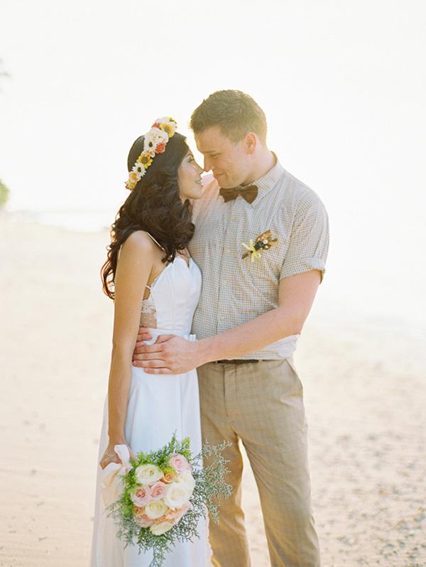 Whimsical Lombok Beach Wedding