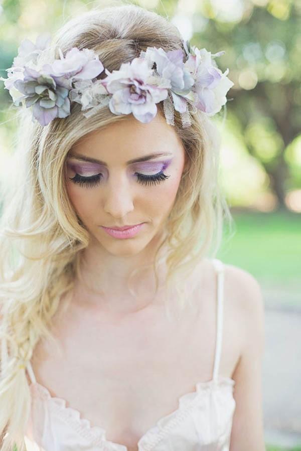 Lilac Makeup Look