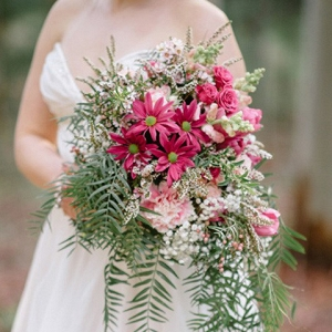 Whimsical Pink & Green Bouquet