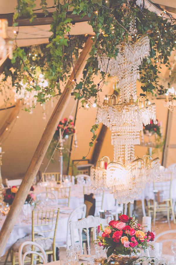 Tipi Wedding Decor