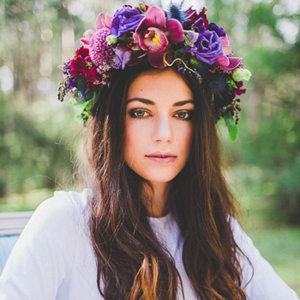 Wild Romantics Flower Crown