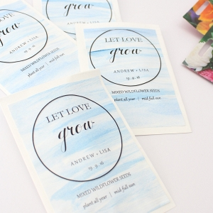 Painted Seed Packet Favor Tutorial