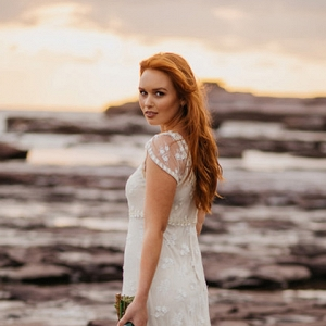 Windswept Beach Bride