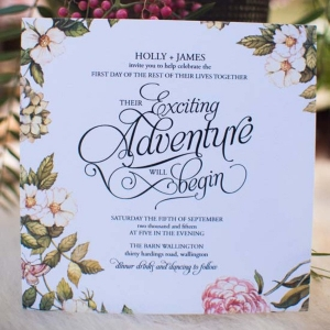 Floral Wedding Invitation Ideas