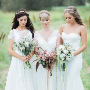 Brides Wearing Jennifer Go