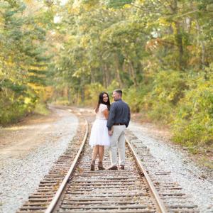 Stroll along the train tracks