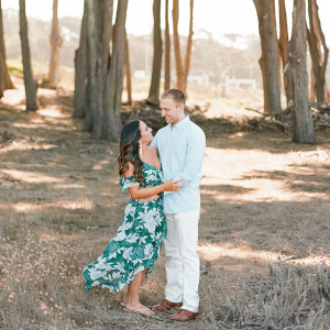 Engagement session in Napa