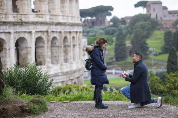 Classic Roman coliseum proposal