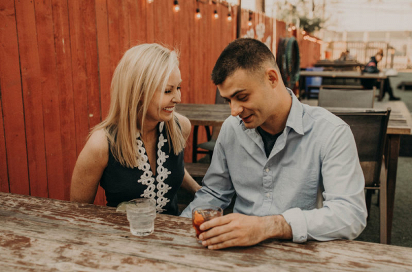 Engagement session in Texas