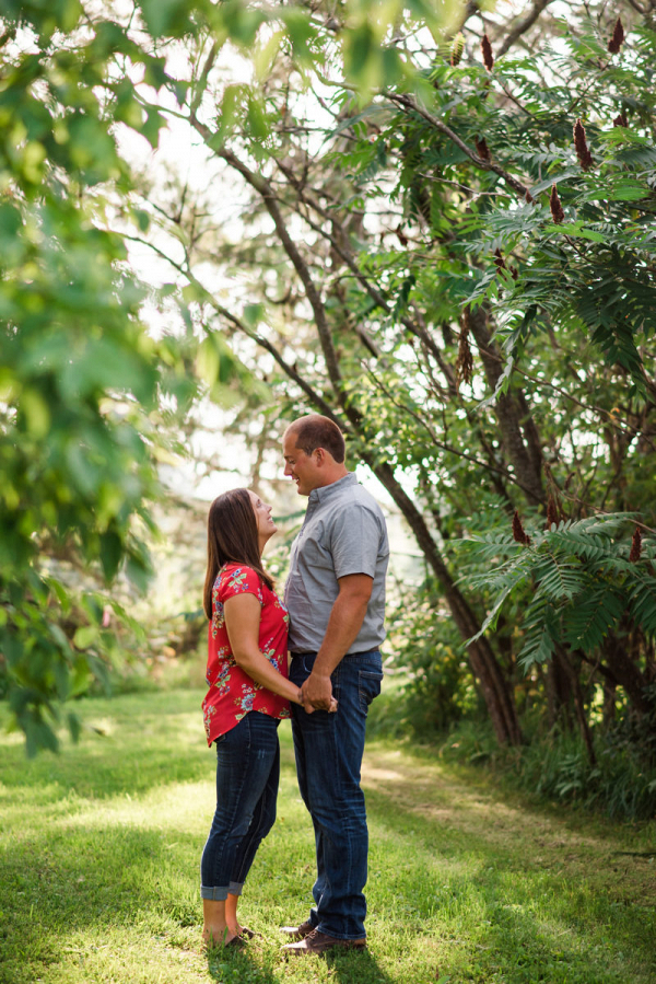 Farmstead Wisconsin engagement session