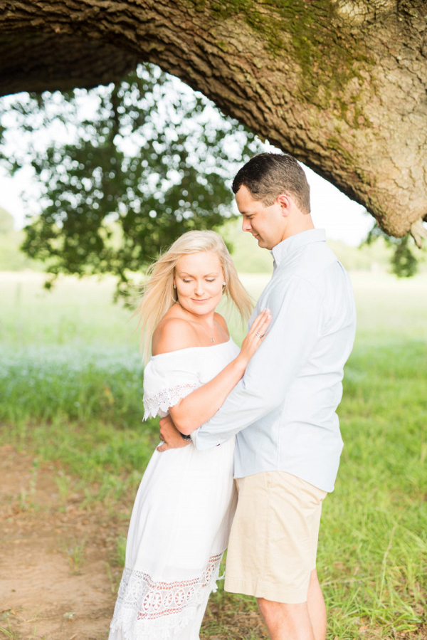 Romantic Alabama engagement session