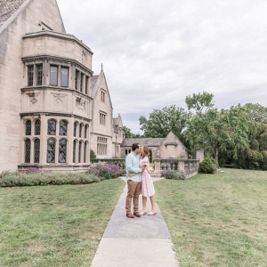 Unreal engagement session at a manor