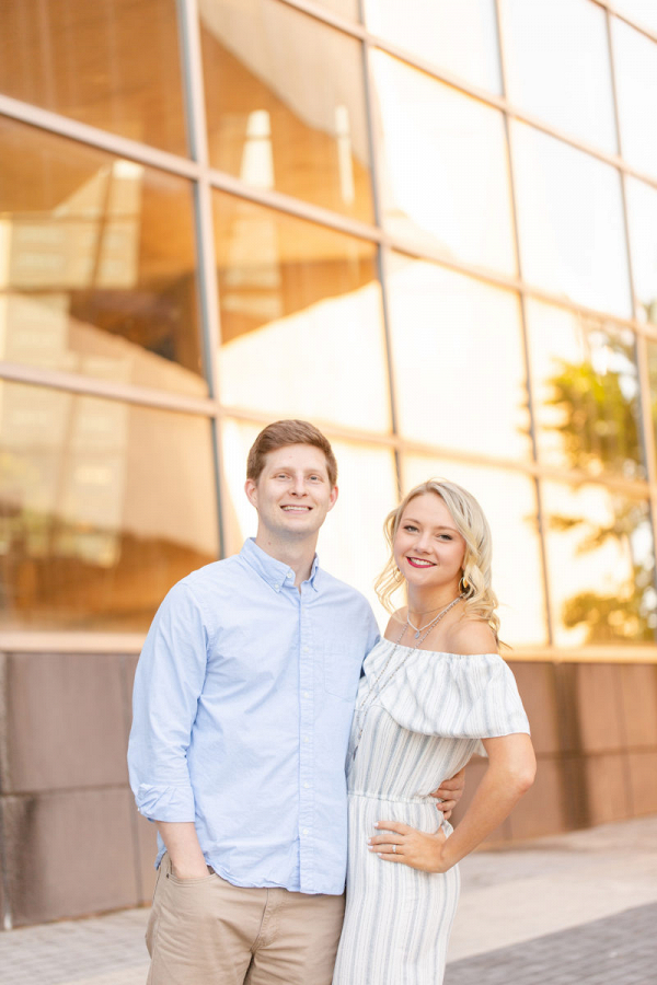Sweet hometown engagement session