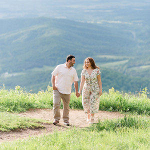 Shenandoah National Park engagement session