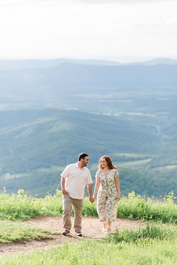 Shenandoah National Park engagement session