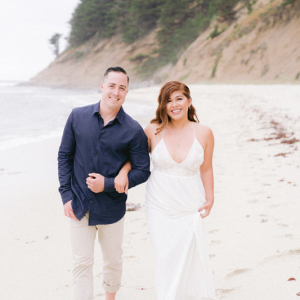 Summer Half Moon Bay Engagement Session