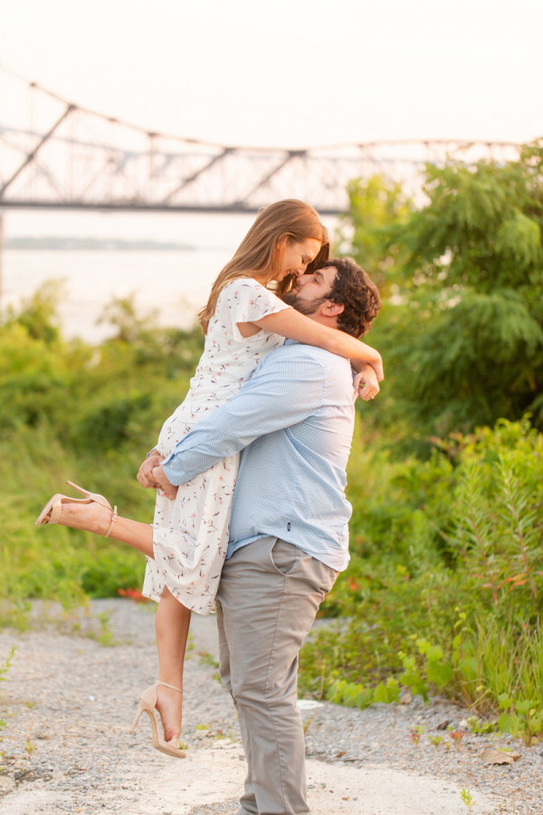 Romantic and smitten