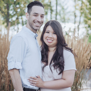 Trillium park engagement session in Toronto
