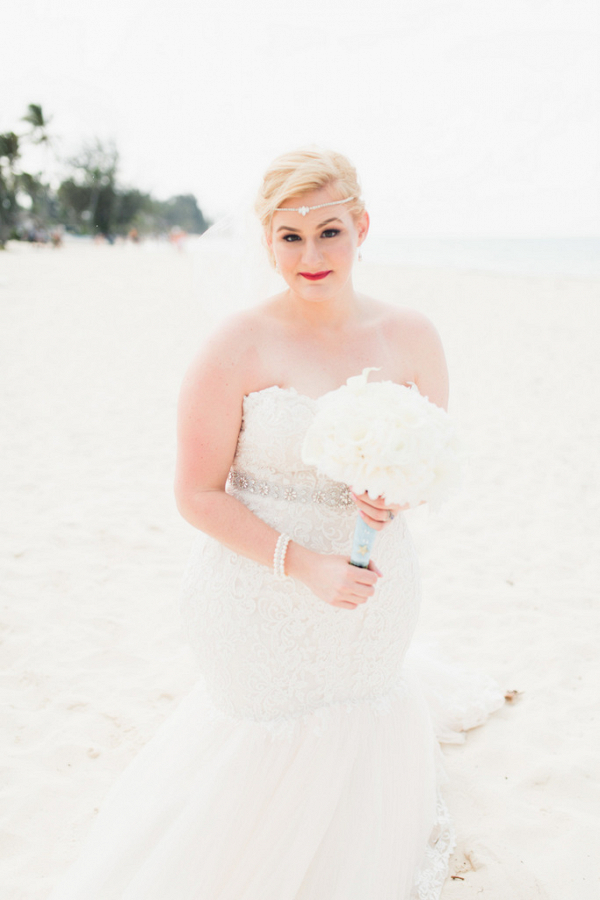 Blue and Gold Coastal Destination Wedding in Dominican Republic