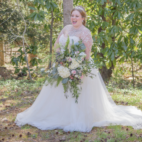 plus size cinderella styled shoot at Cary Hill Plantation