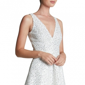Dress the Population 'Carrie' Sequin Fit & Flare Minidress4