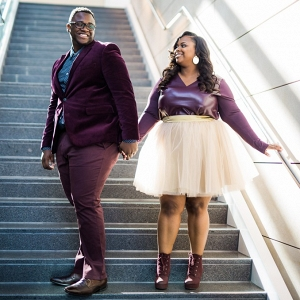 Ethereal Plus Size Love in Downtown Columbus
