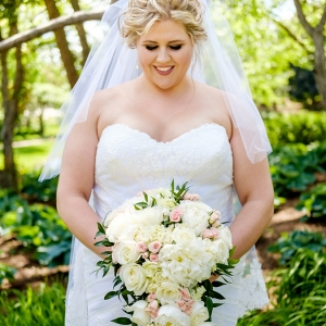 gray wedding on Pretty Pear Bride