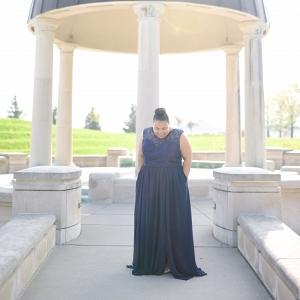 Plus Size Bridesmaid Fabulousness | Kennedy Blue