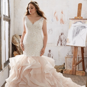 Plus Size Dress of the Week | Mildred Wedding Dress