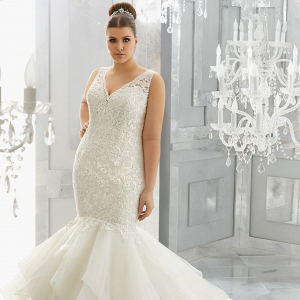 Plus Size Wedding Dress | Mori Lee Julietta Collection