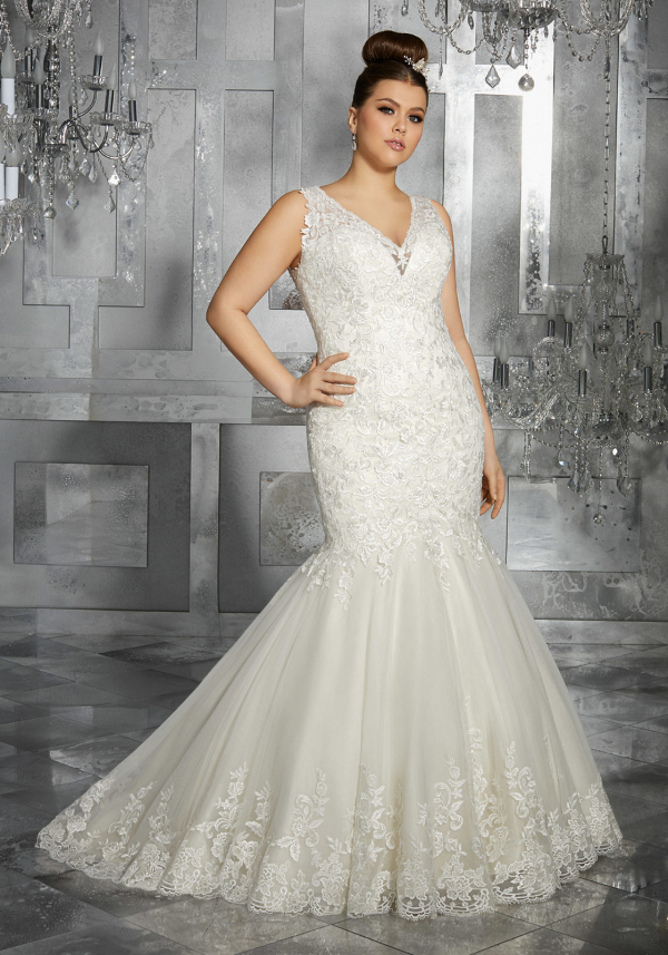 Plus Size Wedding Dress | Mori Lee Julietta Collection