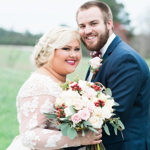 Rustic Chic Red, Blue and Pink Outdoor Georgia Wedding