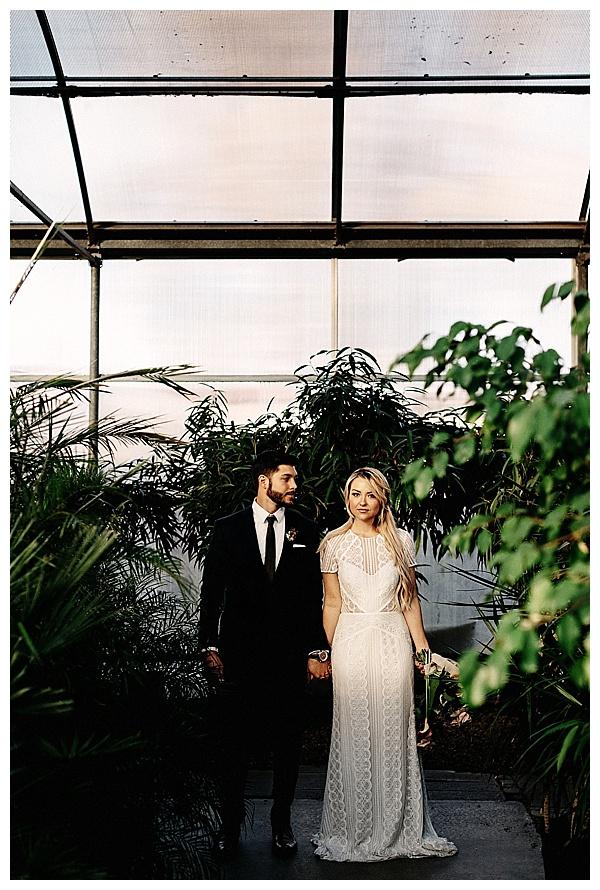 Greenhouse Elopement