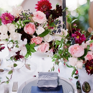Rocky Mountain Bride Wedding Centerpiece
