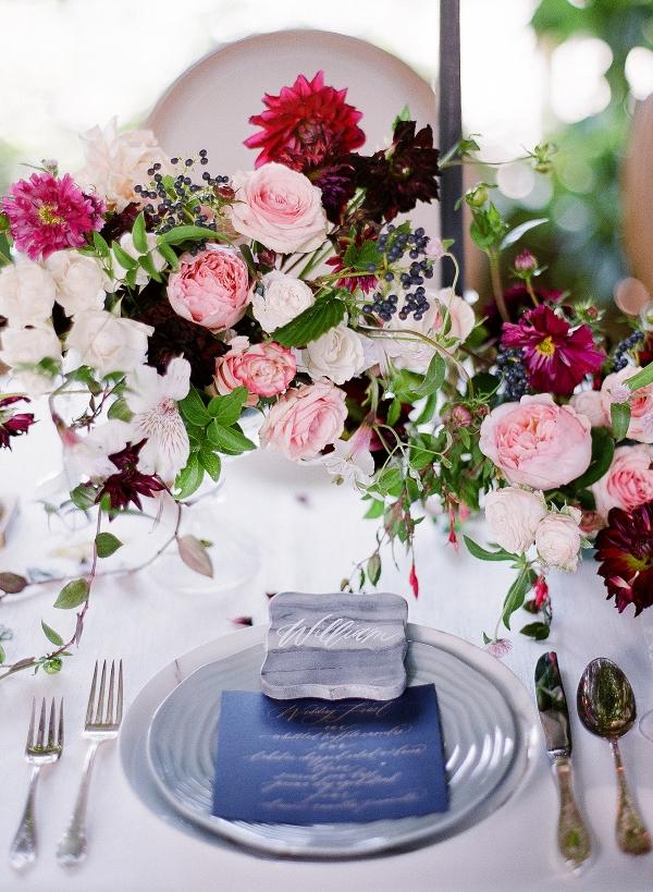 Rocky Mountain Bride Wedding Centerpiece
