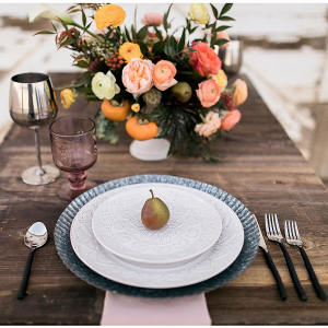 Farmhouse table setting