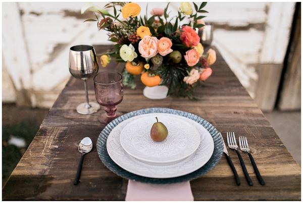 Farmhouse table setting