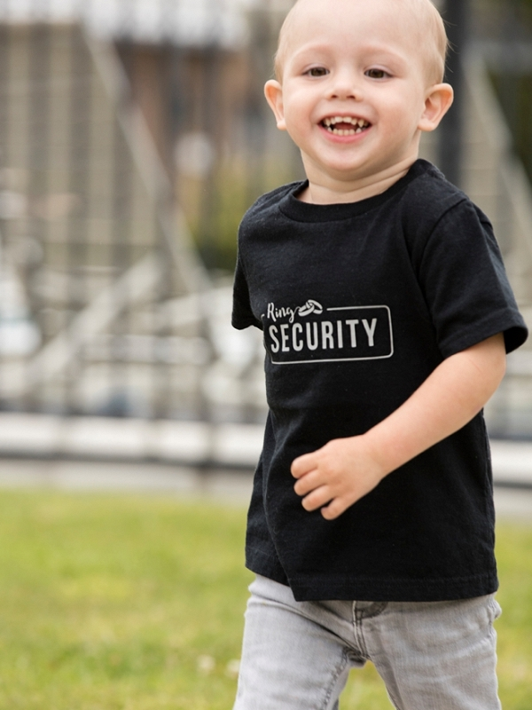 Check out this adorable DIY Ring Security shirt!