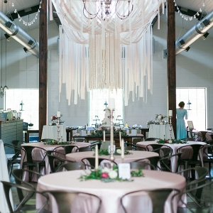 Amazing DIY wedding held in a modern barn!